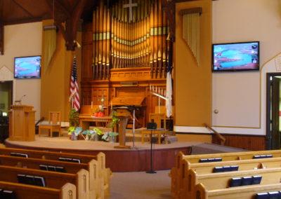 Church Entertainment/Presentation Setup