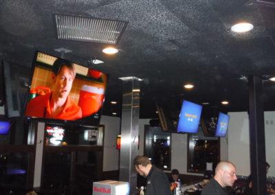 Restaurant TV Mounting