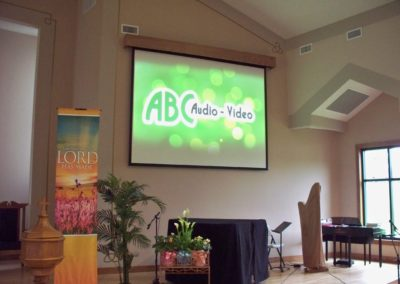 Church Presentation Setup