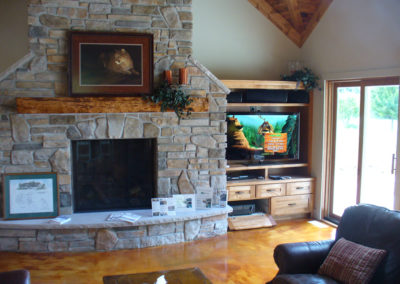 TV Mounting in Living Room