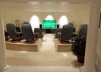 Home Theater Entertainment Area