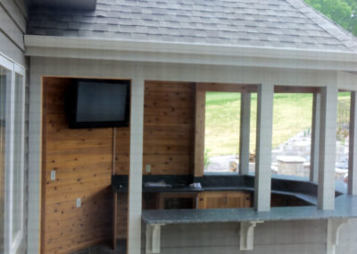 Outdoor TV Mounting