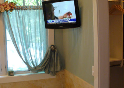 Bathroom TV Mounting
